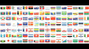 World National Flags With Names Flags Of All Countries Of The World With Names And Nice Music