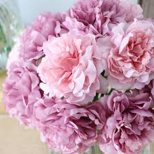 flowers for cheap 10pcs silk artificial flowers cheap hydrangeas peony flower
