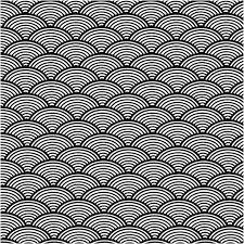 japanese pattern black and white japanese wave wallpaper background free stock photo public domain