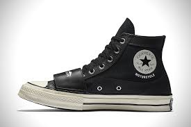 best motorcycle riding shoes converse x neighborhood motorcycle chuck taylors hiconsumption