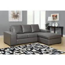Light Gray Sectional Sofa by Skyline Furniture Velvet Light Grey Sectional Sofa By Skyline