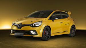 clio renault 2017 this is the 271bhp renault sport clio rs16 top gear