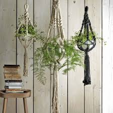 macrame plant hangers decorative home accessories new