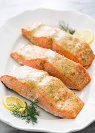 honey mustard salmon recipe simplyrecipes com