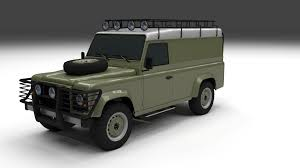 new land rover defender 110 land rover defender 110 hard top by dragosburian 3docean