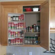 spice rack cabinet insert home storage remedies spice racks