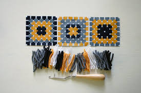 Latch Hook Rugs Blog Karen Barbé Textileria Latch Hook Rug Making Or The