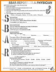 7 sbar template nursing tutor resumed