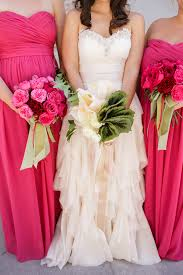 Begonia Bridesmaid Dresses New Orleans Ruffled