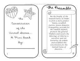the united states constitution mini book by tales of 2 third grade