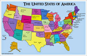 Interactive United States Map by List Of Richest States In Usa 201434eu
