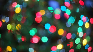 christmas glowing lights defocused blurred backgrounds bokeh