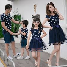aliexpress buy print family matching clothes