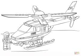 lego police helicopter coloring free printable coloring pages
