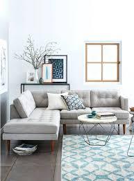 salon canapé deco canape gris dacco moderne de salon avec petit canapac et