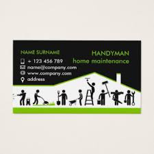Card For Business Cards Handyman Business Cards U0026 Templates Zazzle