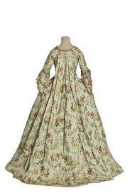 robe mari e chetre robe à la française c 1770 bunka gakuen costume museum via the