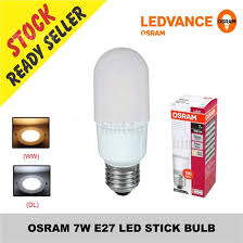 Led Osram Osram 7w E27 Led Stick Bulb Sirim End 9 5 2018 7 15 Am