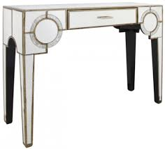 Mirrored Console Table Buy Glasgow Antique Mirrored 1 Drawer Console Table Online Cfs Uk