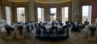 Black And White Chair Covers Wedding Chair Covers And Wedding Planning Harrogte U0026 West