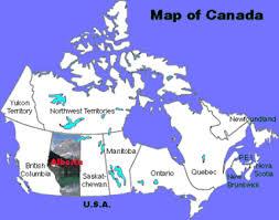 edmonton maps canada map