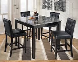 black dining room table set maysville dining room table and chairs set of 5