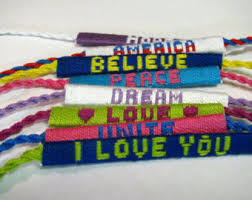 friendship bracelet with name images Custom name friendship bracelet custom word friendship jpg