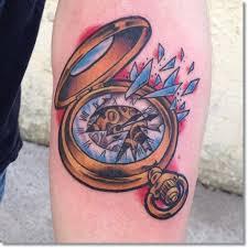 75 brilliant pocket watch tattoo designs ever made pocket watch