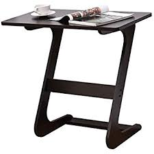Wood Sofa Table Amazon Com Wood Laptop Table For Couch Recliner And Sofa Slide