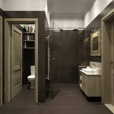 bathroom interiors ideas bathroom decorations ideas masculine matte black wall paint brown