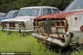 car junkyard washington state kyusha cemetery where old jdm cars go to die speedhunters