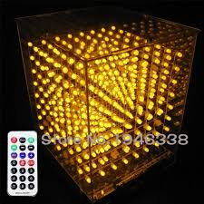 diy 3d 8s led light cube with animation effects 3d cube 8 8x8x8
