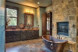 Rustic Bathroom Accessories Sets - indian lakes mountain lodge style rustic bathroom houston by