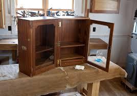 folding campaign bookcase complete lost art press
