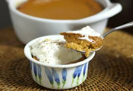 spiced pumpkin pudding recipe