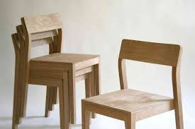 Modern Wooden Dining Chair Designs Ming Aluminum Chair With Wood Seat Stellar Works Project