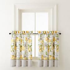 Jc Penneys Kitchen Curtains by Kitchen Curtains Under 10 For Clearance Jcpenney