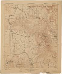 Jerome Arizona Map by