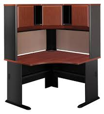 Wood Corner Desk With Hutch Outstanding Bush Cabot 60 Corner Computer Desk With Hutch In
