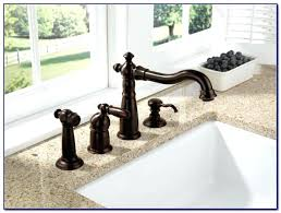 delta kitchen faucets rubbed bronze delta bronze kitchen faucet for gorgeous kitchen features