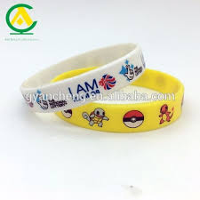 silicone wrist bracelet images Kids silicone wristbands wrist bands cartoon full color print jpg