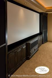 masterworks custom home theater cabinetry