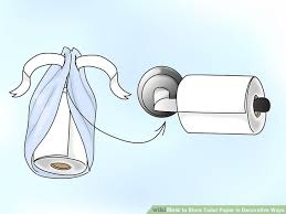 Decorative Toilet Paper 3 Ways To Store Toilet Paper In Decorative Ways Wikihow