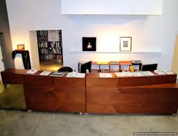 Custom Reception Desk by Custom Cabinets Custom Woodwork And Cabinet Refacing Huntington