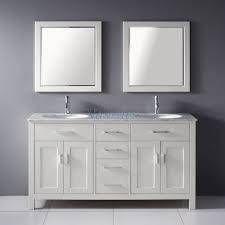 White Double Vanity 60 Bathroom Design Amazing Small Double Vanity 48 Inch Vanity