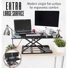 Convert Desk To Standing Workstation Mixxci Com X Elite Pro Xl 36 U201d Standing Desk Height Adjustable
