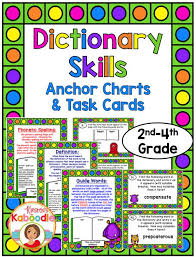 28 best dictionary skills images on pinterest dictionary skills