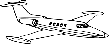 vip airplane coloring wecoloringpage