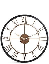 wall clocks rustic wall clock m s