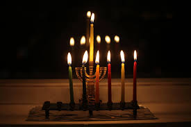 menorah candle holder hanukkah gif find on giphy